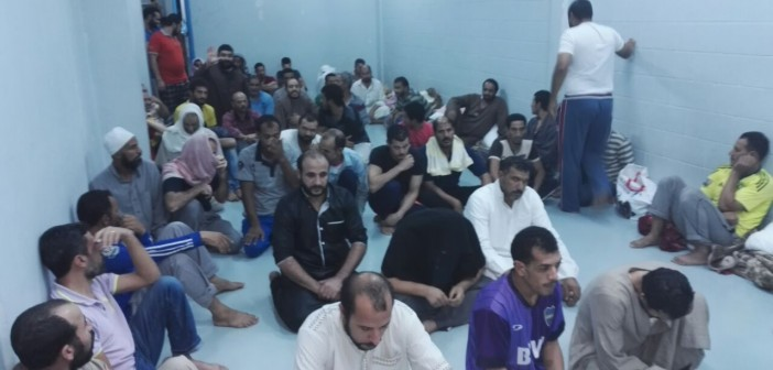 ▶️بالفيديو والصور.. مصريون محتجزون بالسعودية: «عاوزين نروح»