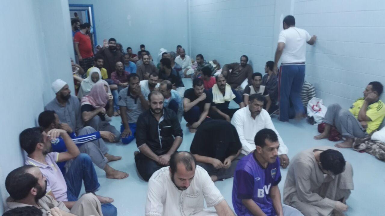 مصريون بسجون الترحيلات السعودية يتسائلون «متى تتحرك الحكومة المصرية» فيديو وصور