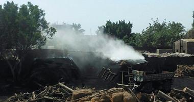 المنوفية| دخان قمائن الفحم بـ«الكمايشة» يثير غضب الأهالي: «أوقفوا هذه الانتهاكات»