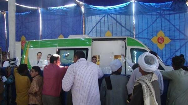 أهالي «أبوغالب» يطالبون «الصحة» بقوافل طبية: «لا نملك غير الصحة عائلنا الوحيد»