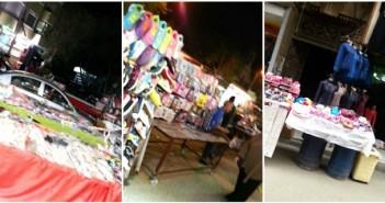 سكان حي الزيتون يشكون من افتراش الباعة الجائلين للأرصفة ومداخل العمارات (صور)