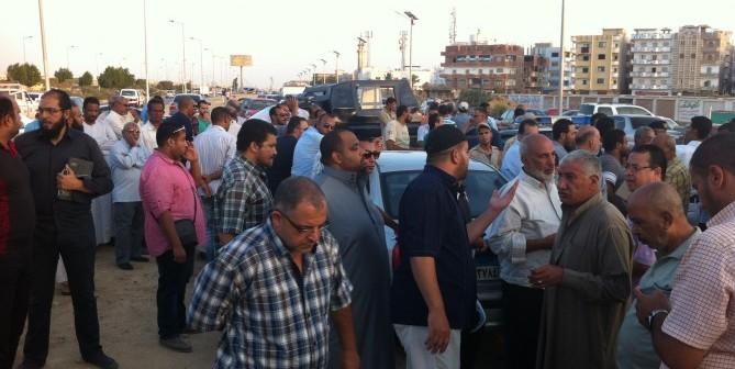 📸تفاقم مشكلات مدينة السلام بالسويس.. وتصاعد الغضب لغياب المياه والكهرباء
