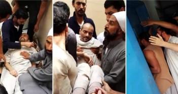 فيديو| بعد إغماء أحدهم.. مصريون يطرقون على أبواب حجزهم بالسعودية: «افتح بنموت»