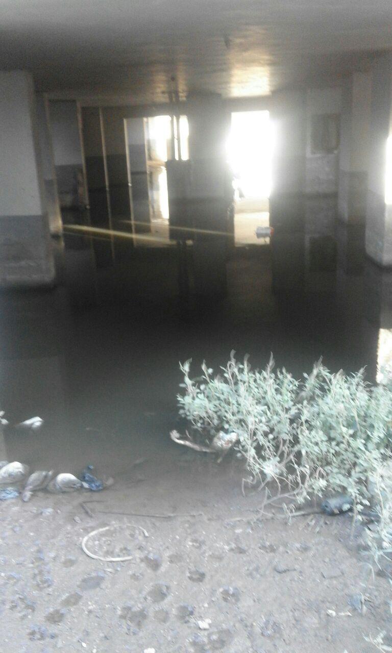مطالب بإستكمال ردم «مصرف اللبينى» بعد تسببة فى غرق متحفي ويصا واصف وآدم حنين وعمارات بالهرم (صور)