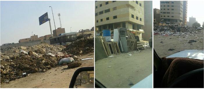📸من فيصل للمريوطية.. القمامة تحاصر الطريق الدائري (صور)