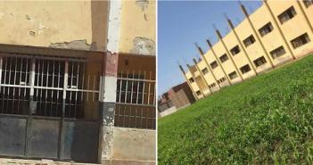 أهالي «العمارنة» بسوهاج يحذرون من خطورة تآكل مدرسة القرية على حياة الطلاب