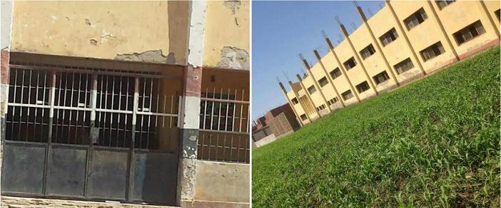 أهالي «العمارنة» بسوهاج: مدرسة القرية آيلة للسقوط وتهدد حياة الطلاب (صور)