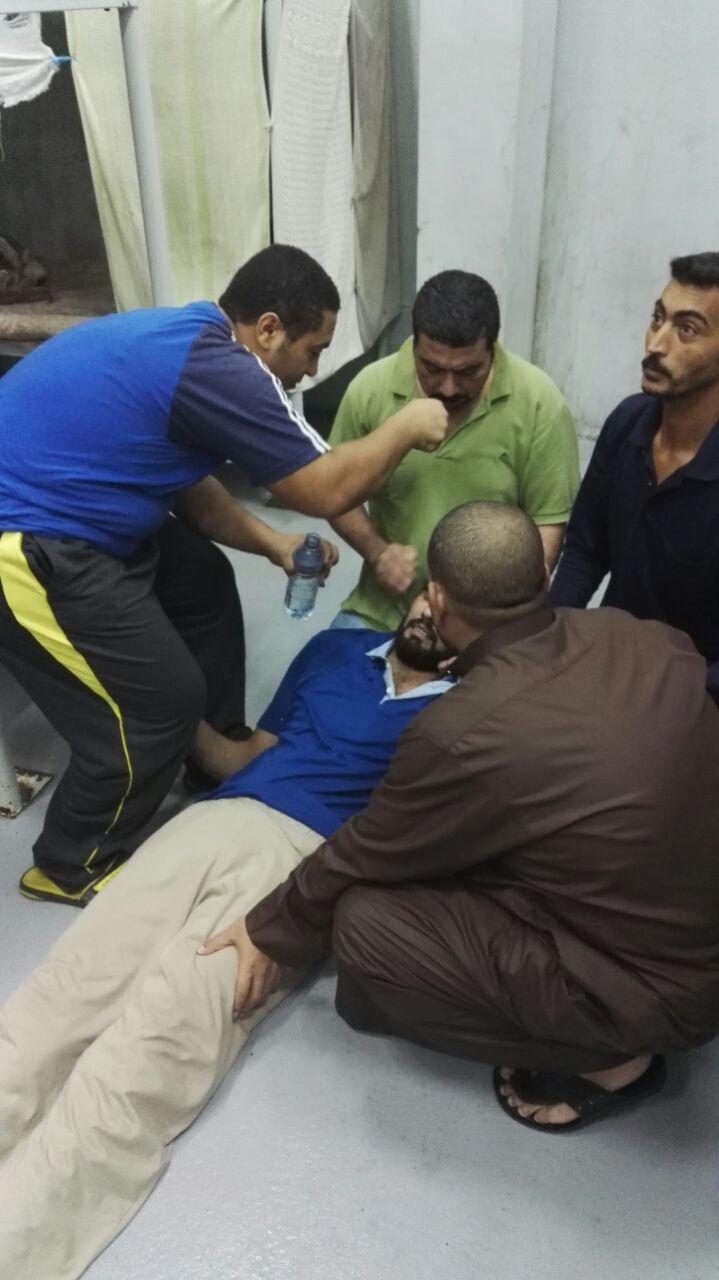 لليوم الثالث على التوالي مصريون محتجزون فى سجن الترحيلات السعودية يواصلو الإضراب عن الطعام (صور)