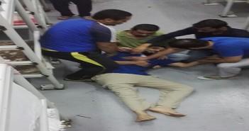 بالصور.. إغماءات بين محتجزين مصريين بالسعودية في اليوم الثالث لإضرابهم عن الطعام