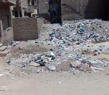 أهالي «الشعارين» يطالبون مسؤولي قنا بحل مشكلة القمامة (صور)