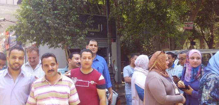 محتجون أمام «الإسكان والتعمير» لرفض وديعة صيانة شقق محدودي الدخل (صور)