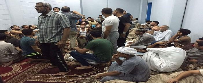 «شارك المصري اليوم» يتلقى صورًا جديدة من عنابر احتجاز المصريين بالسعودية