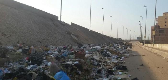 أهالي «كفر طهرمس» يشكون من القمامة ومواقف السيارات العشوائية (صور)