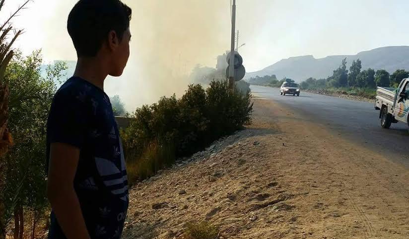 بعد وفاة أحد شباب القرية.. «أولاد يحي» بسوهاج يطالبون بإصلاح وتوسعة طريق (دار السلام- نجع حمادي) (صور)