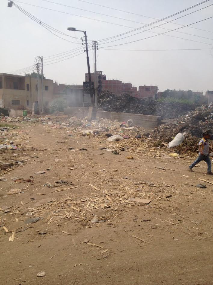 أهالي «كفر الحارث» يشتكون من انتشار القمامة وتجاهل مسئولي محافظة القليوبية