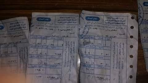 مواطن: محصل الكهرباء رفض تحصيل الفواتير واكتفي بترك الوصل أمام المنازل بالإسكندرية (صور)