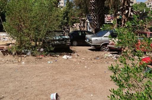 سكان رابعة يشكون تجريف حدائقها.. وانتشار الورش بالشوارع (صور)
