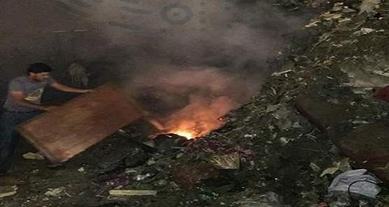 📸سكان حي شرق بورسعيد يشكون تراكم القمامة وحرقها بالشوارع (صور)