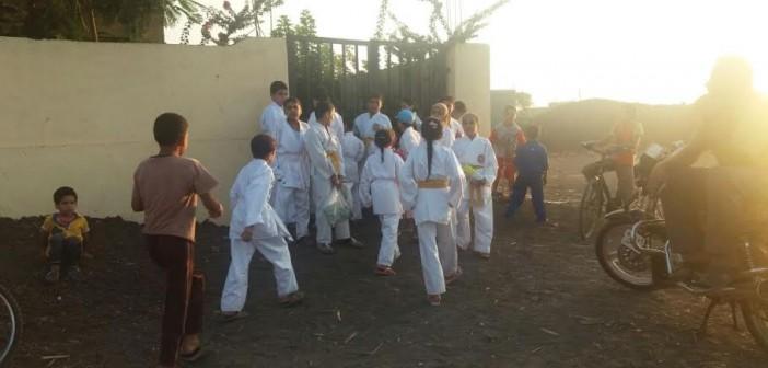 الدقهلية| مركز شباب «الزهايرة» يطرد أطفال «الكاراتيه».. ويوقف النشاط لخلاف مع المدرب (صور)