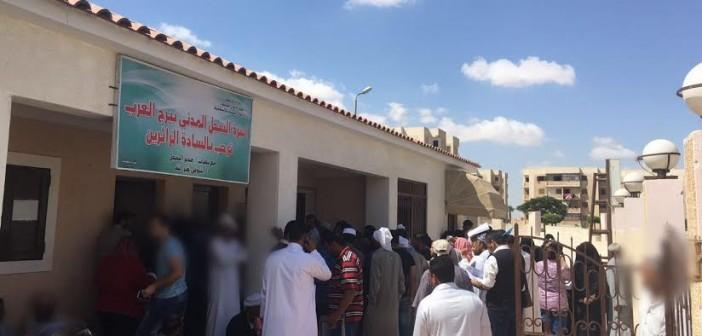 📸مطالب باستراحات للمواطنين بسجل مدني برج العرب وزيادة موظفيه