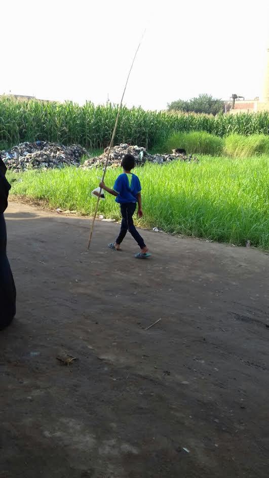 «أهالي جزيرة الوراق»:مسئولي الحي أزالوا القمامة أثناء تصوير المحافظ والقوها في الأراضي الزراعية