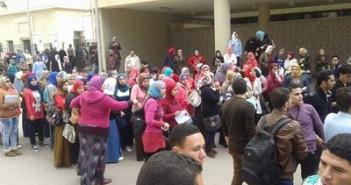 مظاهرات طلاب معاهد التمريض