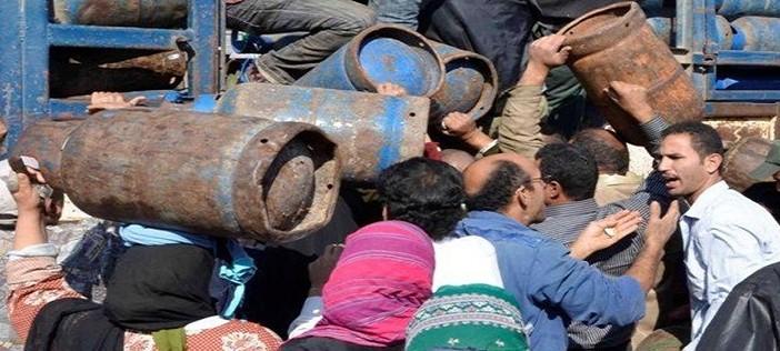 أهالي «المحمدية» بدمياط يطالبون بتعزيز الرقابة على أسعار أنابيب البوتاجاز