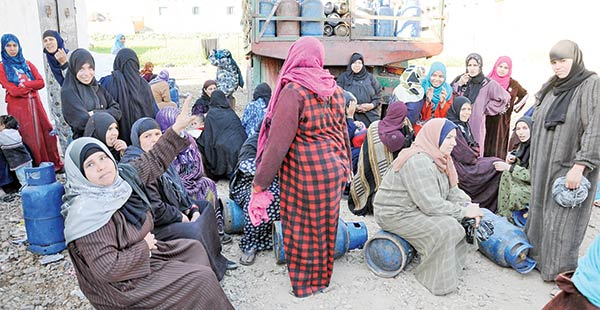 الشرقية| أزمة في أنابيب البوتاجاز بالحسينية: سعرها وصل 35 جنيهًا