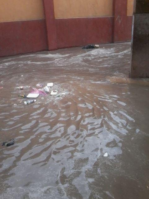 بالصور.. المياه تغمر شوارع الحرس الوطني في بنها وسط تجاهل المسؤولين