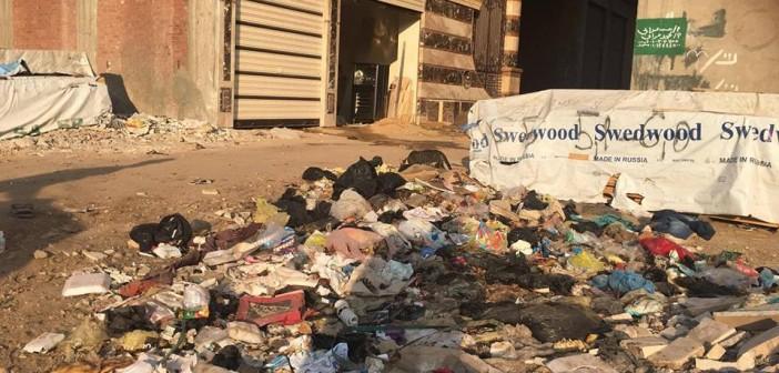 📸القمامة تغزو شوارع نبروه بعد العيد (صور)