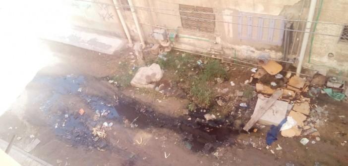 البحيرة | تفاقم أزمة الصرف الصحي في «أنطونيادس» بكفر الدوار (صور)