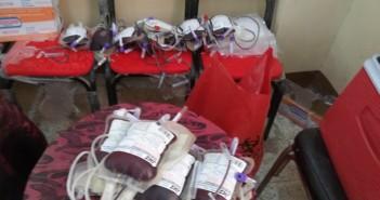 للعام الثالث على التوالي.. شباب «قرية حفنا» بالشرقية ينظمون حملة للتبرع بالدم
