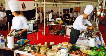 بالصور.. بـ«منيو أكل مصري».. فريق مصري يفوز بالمركز الثاني في مهرجان «طريق التوابل» بالهند