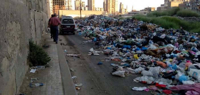 📸تراكم القمامة في شوارع بكرموز بالإسكندرية (صور)