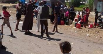 «النواصرية» عطشانة.. ومسؤولو دمياط غائبون عن أزمة المياه بالعزبة