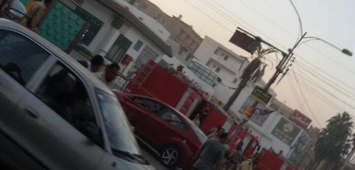 📸السيطرة على حريق في بنزينة وطنية بكفر الشيخ (صور)