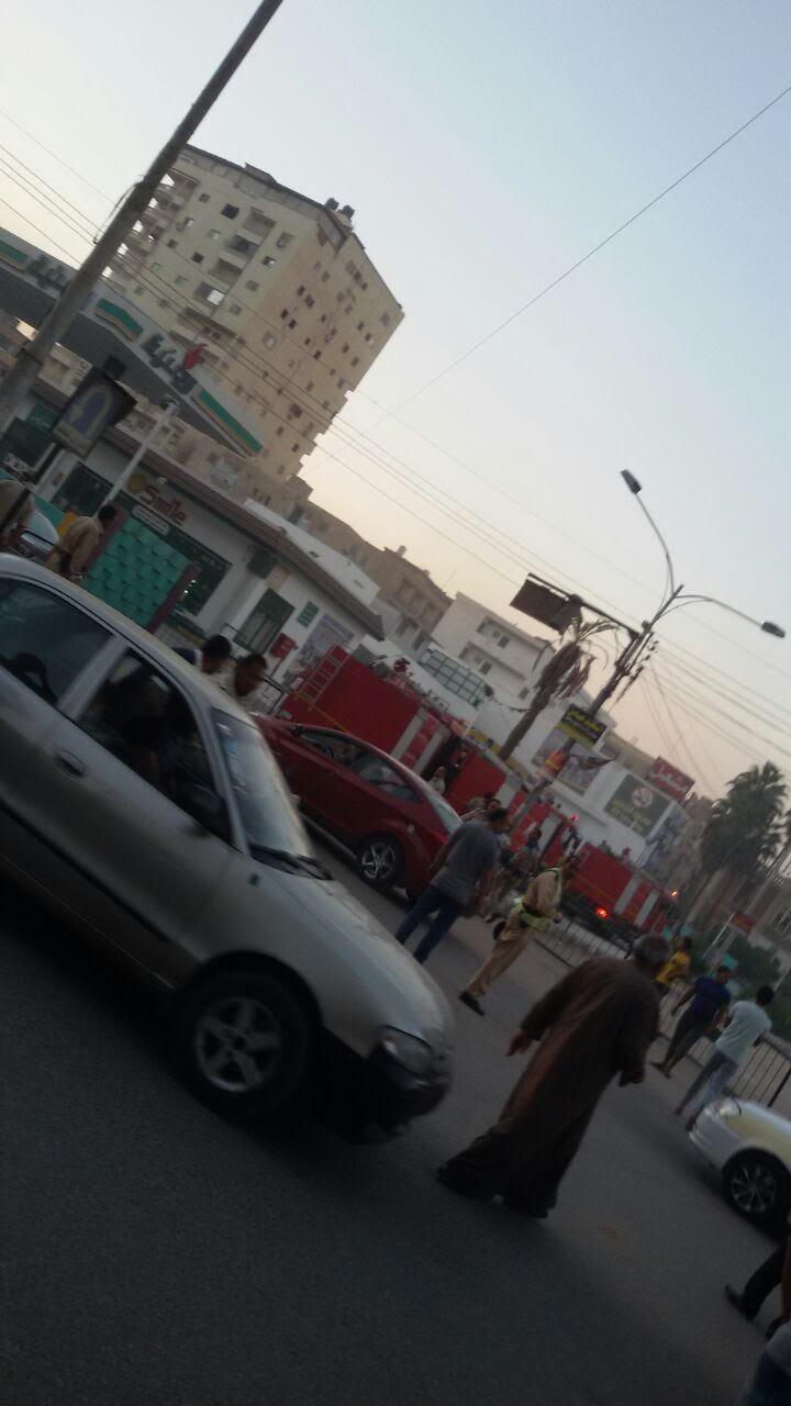 قوات الإطفاء تسيطر على حريق ببنزينة وطنية بمحافظة كفر الشيخ (صور)