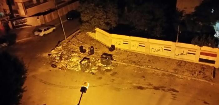 سكان شارع «تحسين فرغلي» بمدينة نصر يشكون انتشار القمامة (صورة)