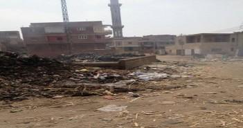 تفاقم أزمة القمامة في كفر الحارث