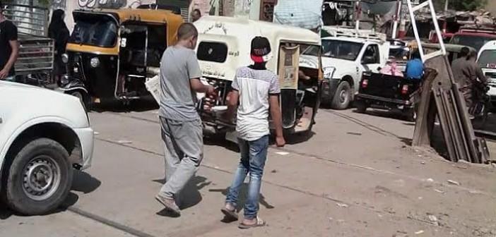 الشرقية| مطالب بمزلقان جديد في قرية «أكياد» لتسهيل مرور الأهالي (صور)