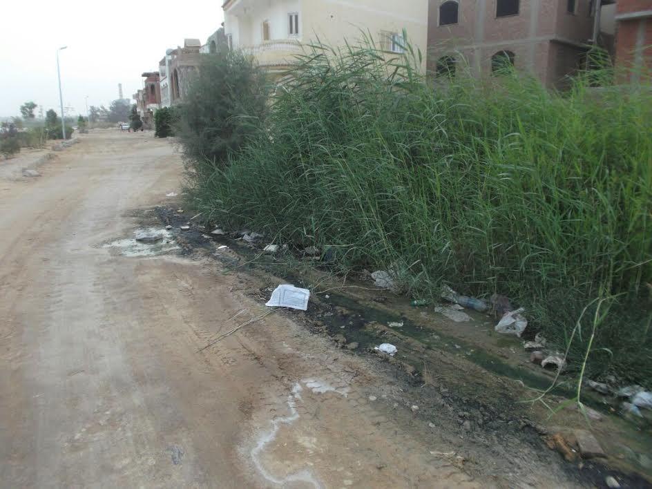 أهالي «الكبانون» يطالبون محافظ السويس بحل أزمة الصرف الصحي (صور)