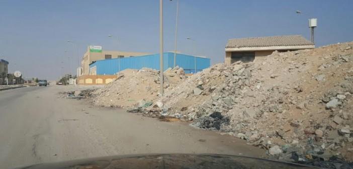 📸مواطن يرصد إهمال شوارع المنطقة الصناعية بأكتوبر (صور)