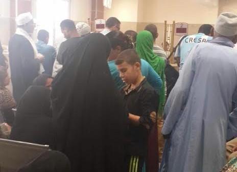 📸مواطنون يشكون بطء العمل وتأخر موظفي بنك مصر بمغاغة (صور)