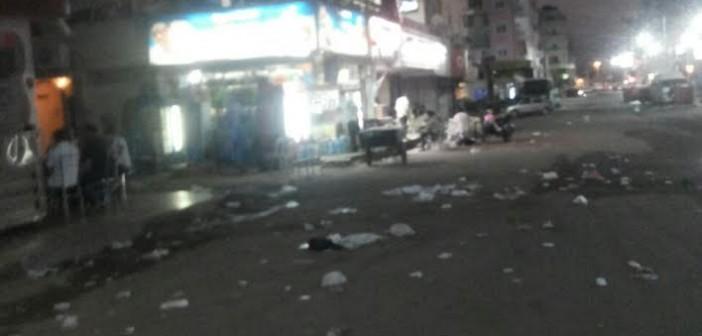 بالصور.. انتشار القمامة في شوارع بالغردقة «السياح يقولوا عنا إيه؟»