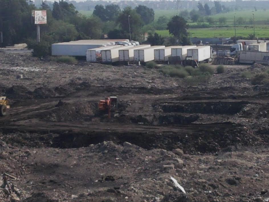 بالصور.. تعديات على الأراضي الزراعية بمدينة المنصور.. والخط الساخن لا يتلقى الشكاوى