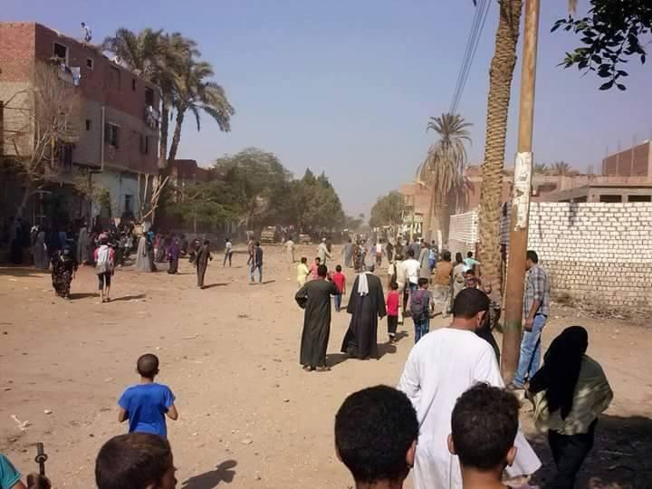 مشاجرات بين أهالي قرية «صفط الشرقية» بسبب 2 كيلو سكر (صور)