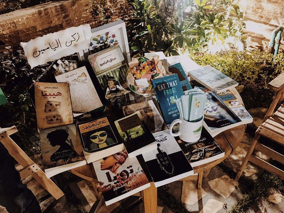 ركن الياسمين.. للقراءة موعد ومكان يحفظ «عطر الهواية» (صور)