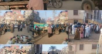 أزمة في أنابيب البوتاجاز بمركز محلة دمنة بالدقهلية