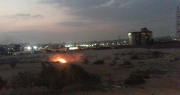 مواطن يرصد حرق المخلفات بأحد شوارع مدينة نصر يوميًا دون اهتمام الحي (فيديو)