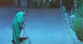 ليلا ونهارًا.. حملات نظافة مُستمرة في شرم الشيخ رغم أزمة السياحة